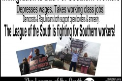 League of the South demonstration for Southern workers in NW Georgia, 18 October