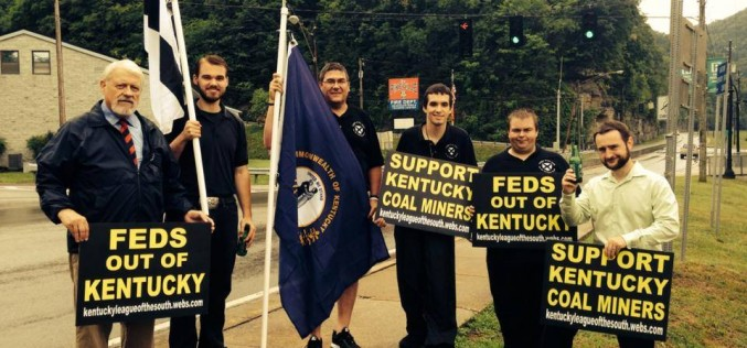 League of the South to demonstrate in favor of Kentucky coalminers