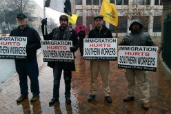 League participates in nullify Obama's amnesty demonstration in Richmond