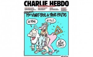 Charlie Hebdo anti-Christian Jan 2015