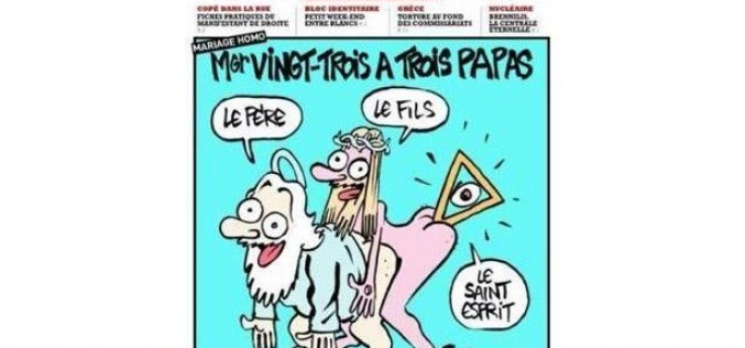 A lesson from Charlie Hebdo