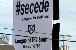 Our newest #secede billboard in Harrison, Arkansas