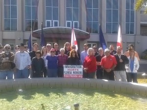 Gainesville Fla demo 7 Feb 2015