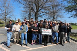 League demonstrates for Southern workers in Vidalia, Georgia