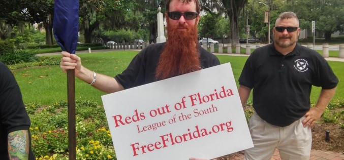 Burning the commie flag in Florida (part two)