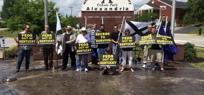 "Kentucky LS says ""Feds Out"" in Alexandria"