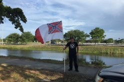 Southern nationalist accosted by police in Miami