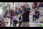 William Flowers speaking at Ala. flag rally June 2015