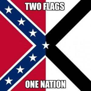 Battle flag and SN flag combined with full star in middle