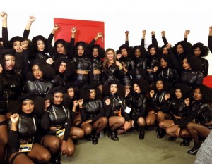 Beyonce's black panther bitches super bowl 2016