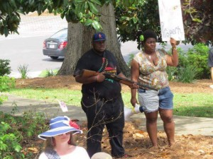 Niggers at Confederate Memorial Day celebration Montgomery Ala Apr 2016