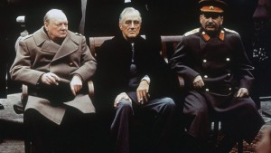 Churchill, FDR, and Stalin May 2016