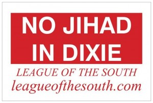 No jihad in Dixie Nov 2015