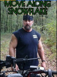 Move along snowflake Mike Goza Feb 2017