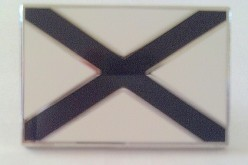 LS black cross SN flag lapel pins are ready to order!