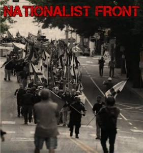 LS Nationalist Front black and white photo Charlottesville Aug 2017