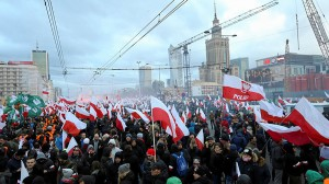 Polish nationalists march Nov 2017