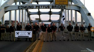 LS on Edmund Pettus bridge June 2018