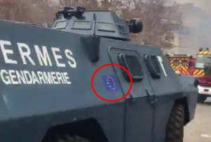 EU armor in Paris Dec 2018