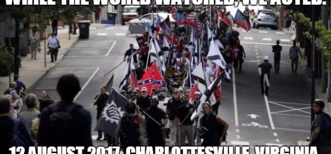 Charlottesville, four years after . . .